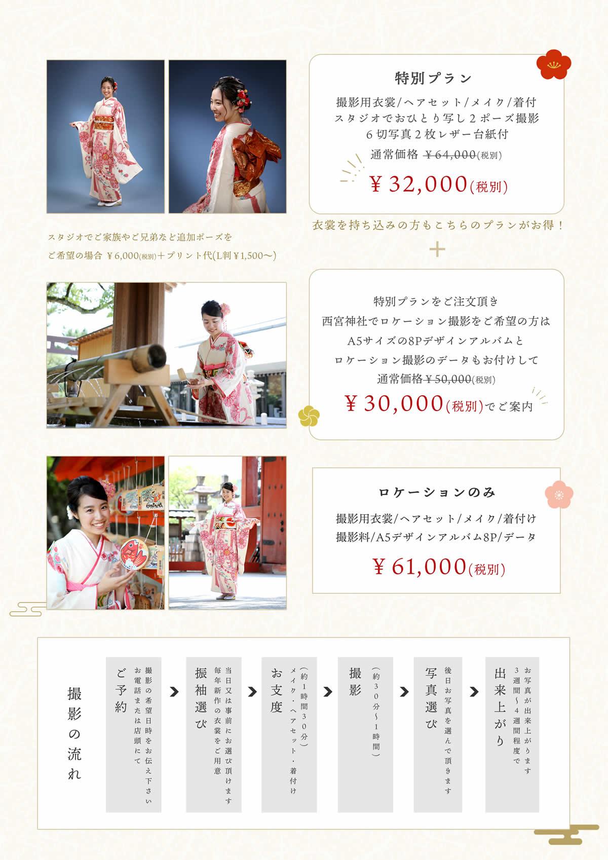長崎写真場 夏の成人式キャンペーン